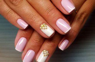 Розовый френч: идеи актуального дизайна ногтей, новинки 2020, фото