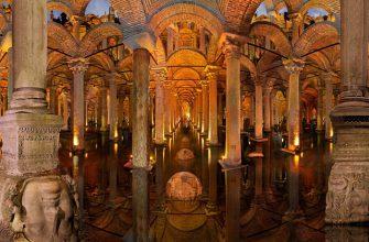 Цистерна Базилика – древний подземный резервуар для воды размером с огромный дворец