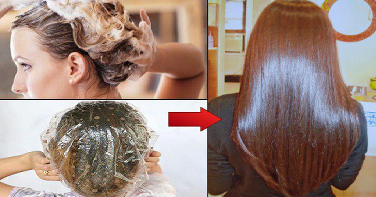 Нанесите эту маску на волосы и подождите 15 минут - от эффекта у вас перехватит дыхание!